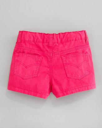 Oscar de la Renta Lightweight Twill Shorts