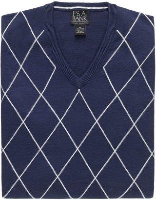 Jos. A. Bank Factory Cotton Argyle Vest