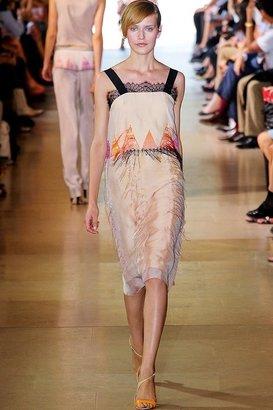 Sharon Wauchob Fringed Middle Slip Dress