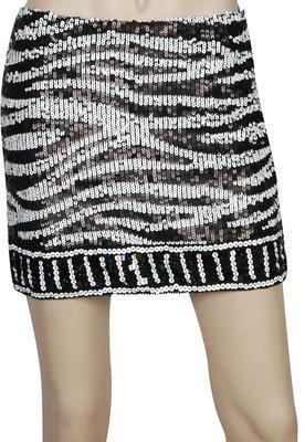 Forever 21 Sequin Animal Skirt