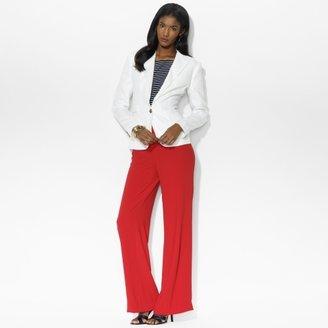 Ralph Lauren Single-Button Linen Jacket