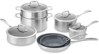 Zwilling J.A. Henckels Zwilling Spirit Stainless-Steel Ceramic Nonstick 12-Piece Cookware Set