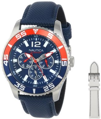 Nautica Men's N13663G NST 07 Multi Box Watch $135 thestylecure.com