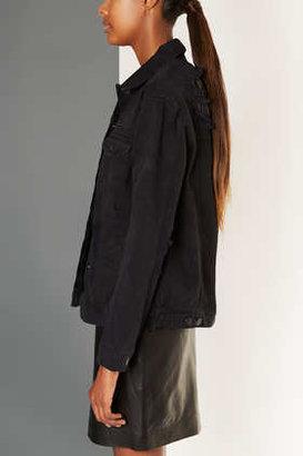Topshop Distressed Denim Jacket By Boutique