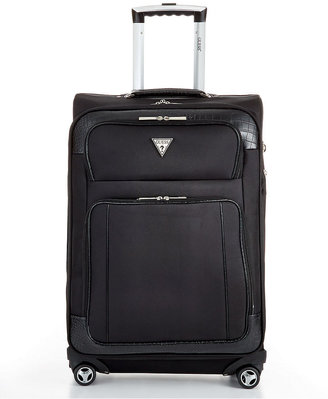"GUESS GUESS? Suitcase, 25"" Valise 2 Rolling Spinner Upright"