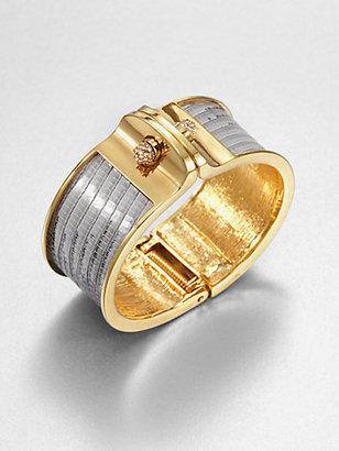 Kara Ross Kara by Wide Lizard Cuff Bracelet