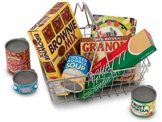 Melissa & Doug Let's Play House! Grocery Basket Set