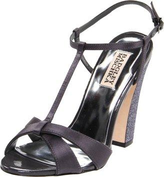 Badgley Mischka Platinum Women's Jenie T-Strap Sandal
