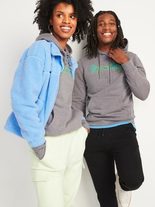 Old Navy Rick and Morty Gender-Neutral Graphic Pullover Hoodie for Adults