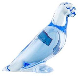 Baccarat Crystal Bird Figurine