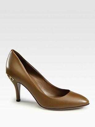 Gucci Elizabeth Leather Pumps