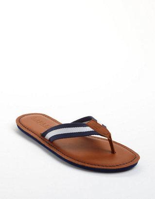 Lauren Ralph Lauren Edison Leather Thong Sandals