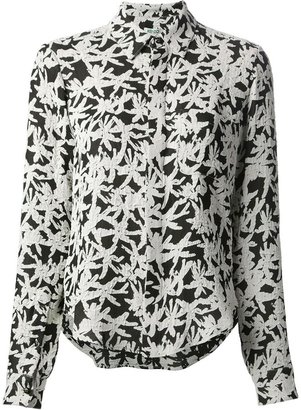 Kenzo palm print fitted shirt