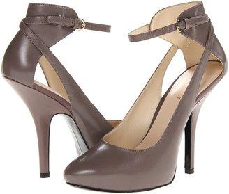 Nine West Say Bella (Grey Leather) - Footwear