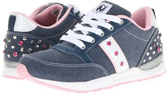Naturino Sport 395 SP13 (Toddler/Little Kid/Big Kid) (Denim/Blue/White) - Footwear