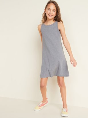 Old Navy Sleeveless Rib-Knit Swing Dress for Girls