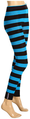 Betsey Johnson 2 Pack Betsey Bowtie Legging/ Splendid Stripe Sweater Footless