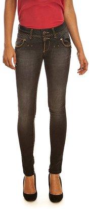 Cipo & Baxx Cipo&baxx Jeans CBW 483 noir ceinture tr