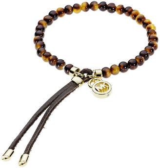 Michael Kors Beaded Tortoise Shell Bracelet