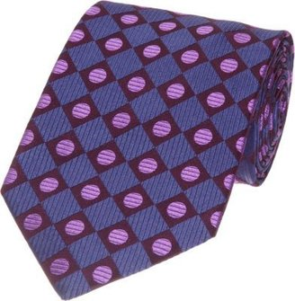 Duchamp Circle Diamond Tie