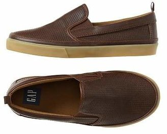 Perforated slip-on sneakers $29.95 thestylecure.com