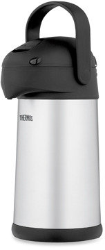 Bed Bath & Beyond THERMOS® 2.7-Quart Stainless Steel Pump Pot