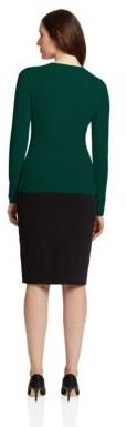 Lord & Taylor Cashmere Crew Neck Sweater