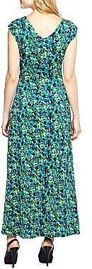 JCPenney Confetti Print Maxi Dress - Petite