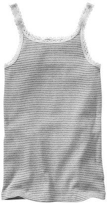 Gap Crochet-trim ribbed tank