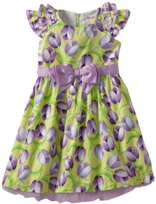 Nannette Girls 4-6x Party Floral Dress