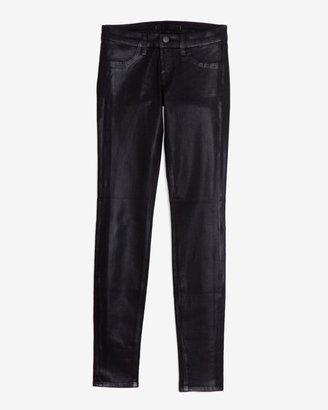 J Brand Coated Super Skinny: Stealth