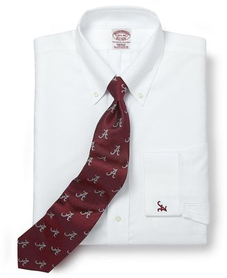 Brooks Brothers University of Alabama All-Cotton Non-Iron BrooksCool® Regular Fit Dress Shirt
