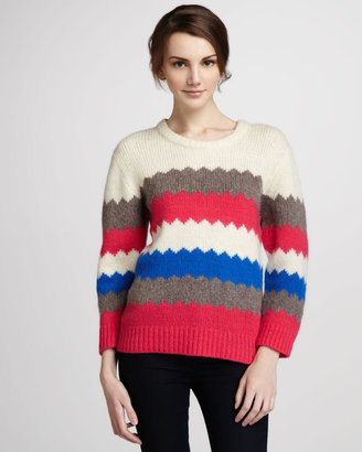 Marc by Marc Jacobs Nikolai Patterned Sweater