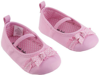 Babies 'R' Us Babies R Us Koala Baby Girls' Soft Sole Ballerina Shoes with Bow