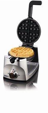 VillaWare Stainless Steel Flip Waffle Maker