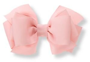 Janie and Jack Pink Bow Barrette