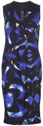 Zero Maria Cornejo collage print dress