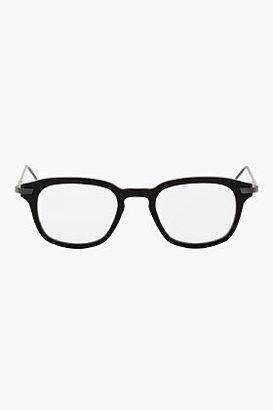 Thom Browne Black Matte Optical Glasses
