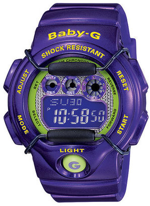 Baby-G 'Tropical Paradise' Digital Watch, 44m x 40mm