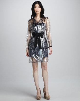 Milly Simona Clear Raincoat