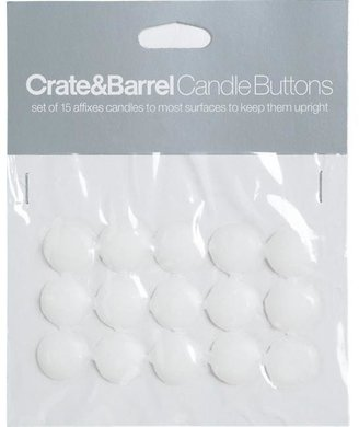 Crate & Barrel Set of 15 Candle Buttons