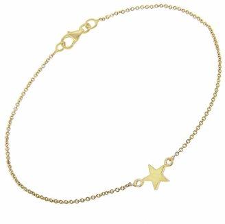Jennifer Meyer Mini Star Chain Bracelet - Yellow Gold