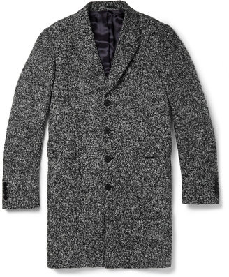 PS by Paul Smith Bouclé Tweed Overcoat
