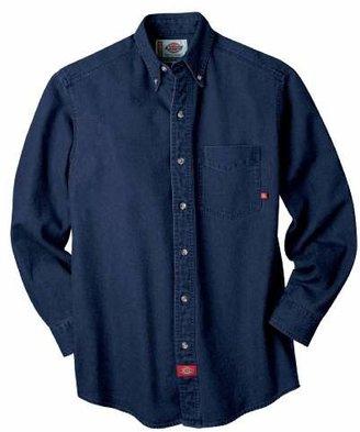Dickies Men's Long-Sleeve Denim Work Shirt