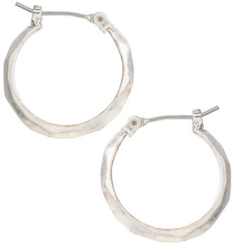 Kenneth Cole New York Earrings, Silver-Tone Small Hoop