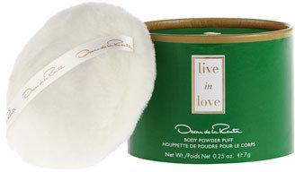 Oscar de la Renta 'Live in Love' Body Powder Puff