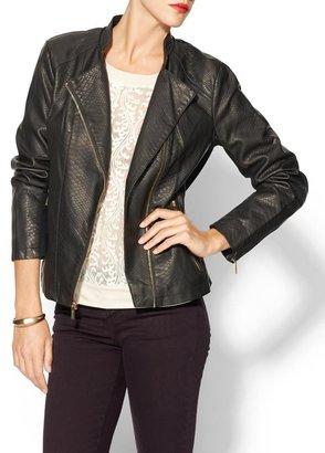 Calvin Klein Embossed Moto Jacket