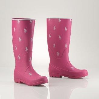 Ralph Lauren Proprietor Pony Rain Boot
