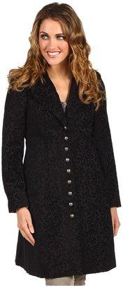 Scully Carlynda Chenille Victorian Elegance Frock Coat (Black) - Apparel