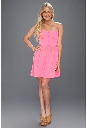 Roxy Good Times Dress (Bubble Gum) - Apparel
